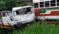 "La Chorrera市货车与""红魔鬼""相撞致五人受伤"
