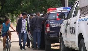 警方在Veracruz区逮捕正在蹲点的三名可疑人