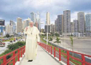 教宗方济各将赴巴拿马出席2019年世青节