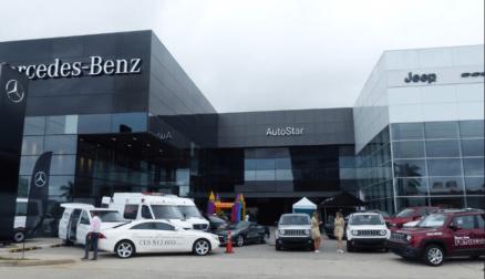 主营Mercedes-Benz的Autostar公司赞助巴拿马首届车展