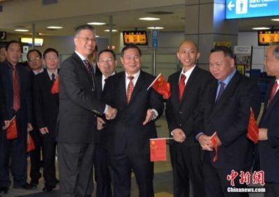 """中国驻巴拿马大使:中巴""""每天都在创造历史"""""""