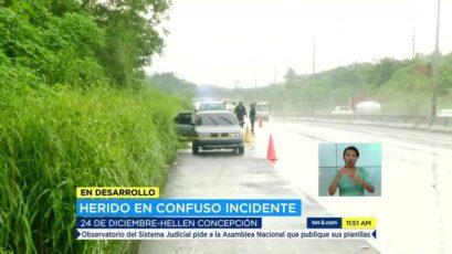 Arraiján – La Chorrera高速公路发现一中枪男子