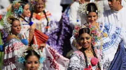 """第9届""""Mil Polleras""""巴拿马民族服装游行将于本周六隆重举行"""