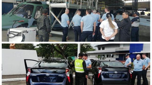 巴国安全部队严格检查教宗将使用的直升机和车辆
