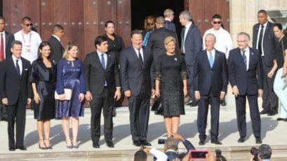 6位国家元首参加巴拿马世青节的闭幕弥撒