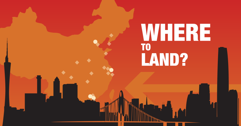 Where to land your tech company in China