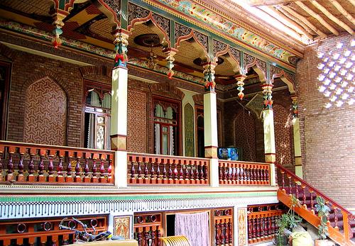 Ayiwang Uyghur Houses In Xinjiang Chinablog Cc