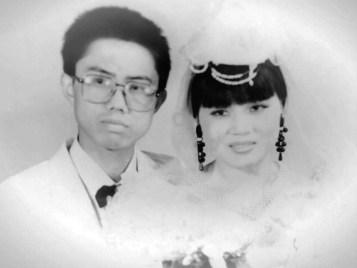 Liu Xianbin and Chen Mingxian in May 1994.