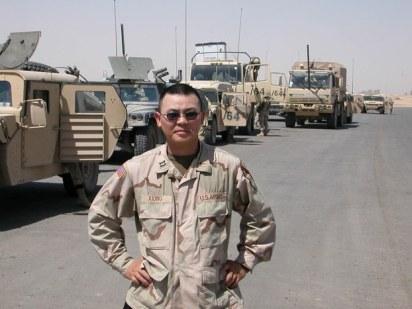 Major Xiong Yan (熊焱). Photo credit: RFA.