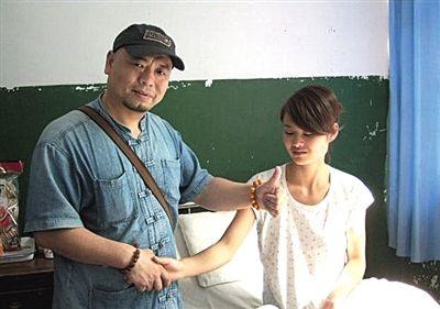 Wu Gan with Deng Yujiao.