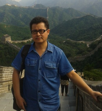 Guo Feixiong in Beijing, summer of 2013. Photo provided by Guozhen Xiao.