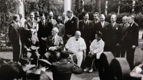 Cairo Conference, 1943. H/T @heguisen