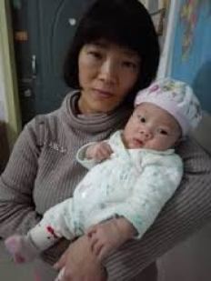 张海涛_wife and baby