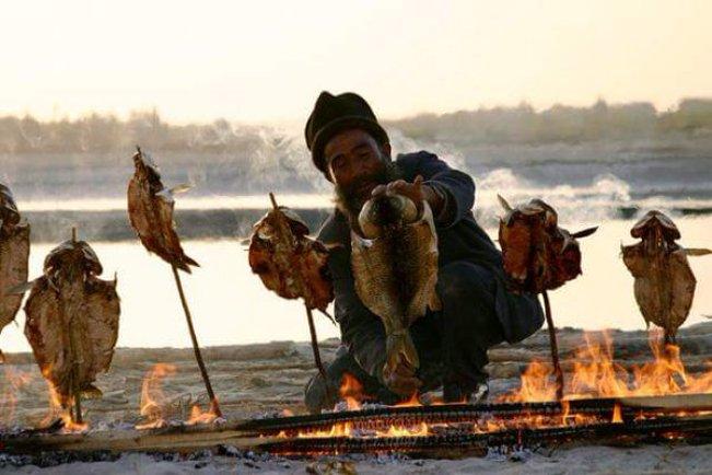 維吾爾烤魚