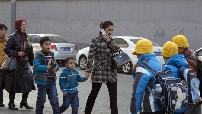 伊力哈木_wife and children