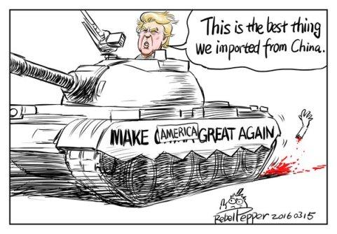 Trump tiananmen
