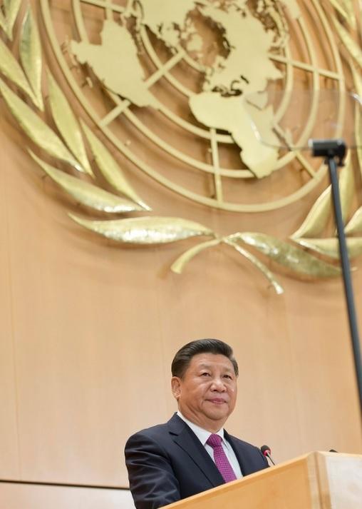 xi jinping UN Geneva