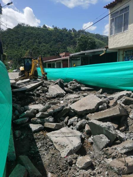Inicio de Obra Calle 8N Barrio Cuatro de Julio, Construcción de Pavimento Rigido