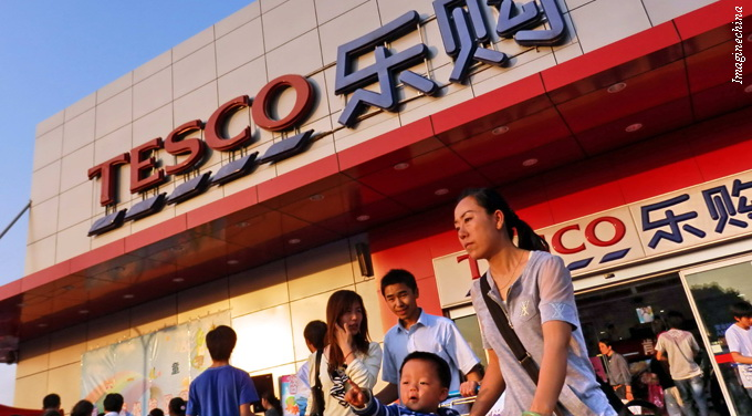 Chinese grocers go on a shopping spree