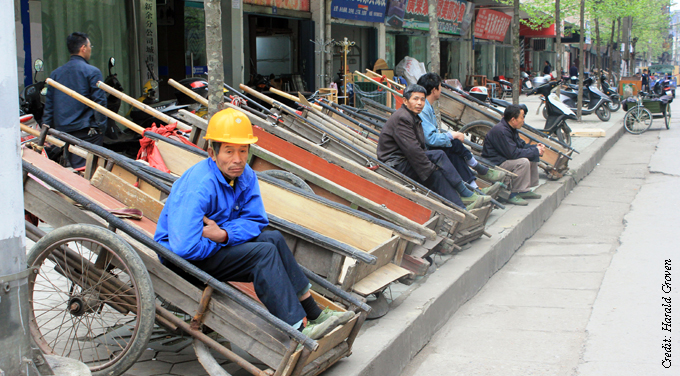 Closing the wealth gap is a battle between China's cities