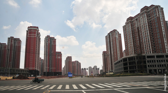 When the masses retake China's ghost towns