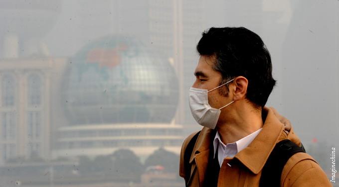 Smog is hurting Shanghai's shot at becoming a financial hub