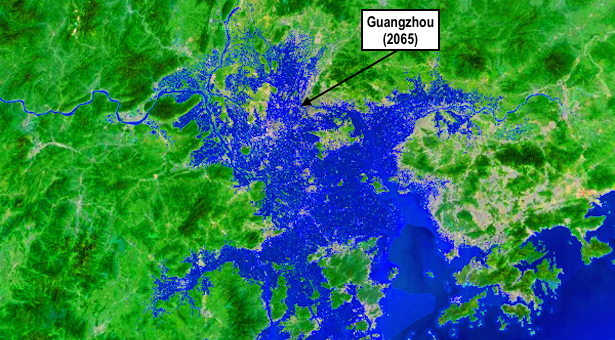 Infographic series: Rising seas lay siege to China's booming coastal cities