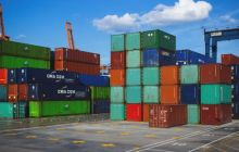 Chinese exports surge in February, but trade war concerns remain