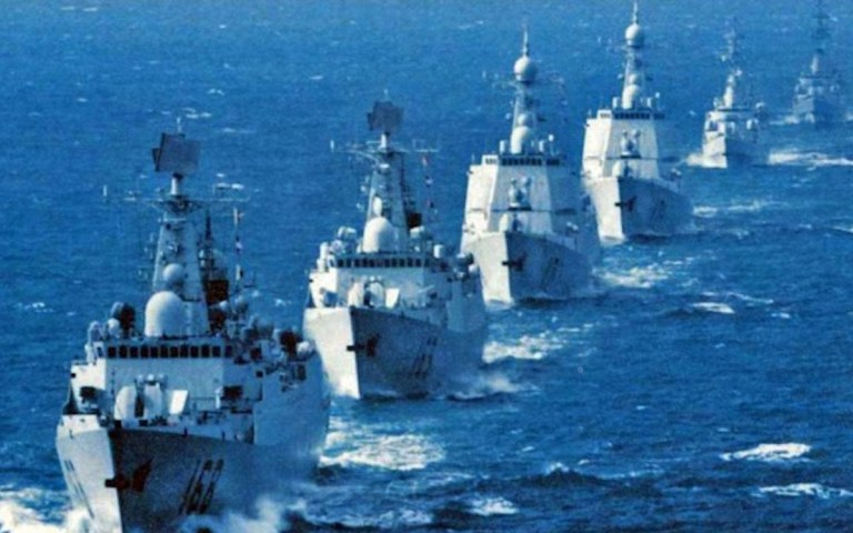 """US warns China over """"provocative behavior"""" in the South China Sea"""