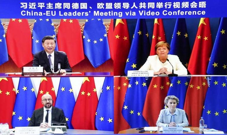 Tough talk from the EU fails to pierce China's hot air bubbles