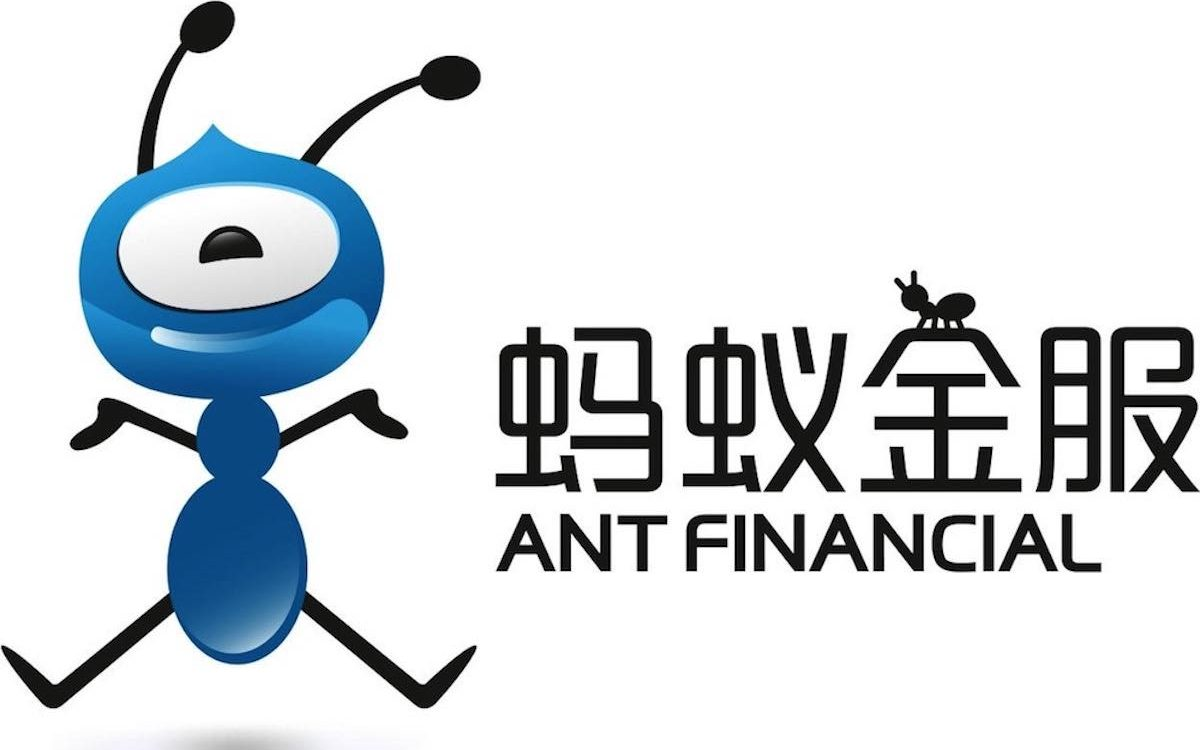 Ant's logo resembles the insect. The Alibaba affiliate has become the leading player in China's fintech sector.