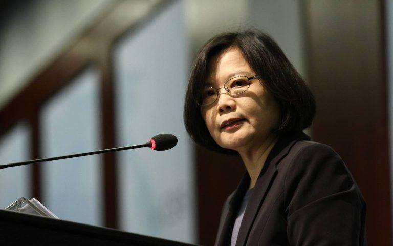 Tsai talks the talk and walks the walk over China