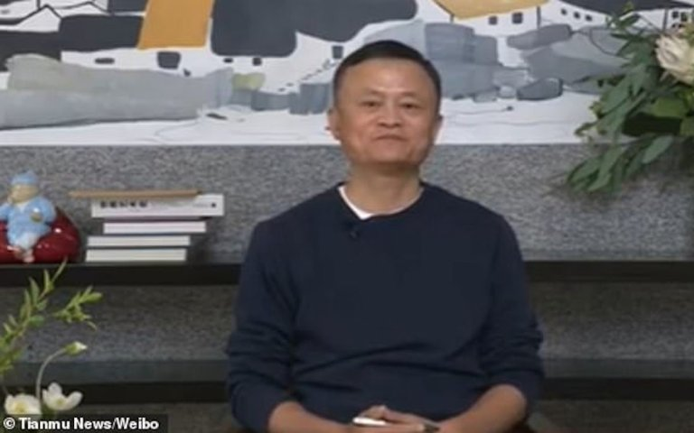 Jack Ma reappears in a video clip amid high tech high drama