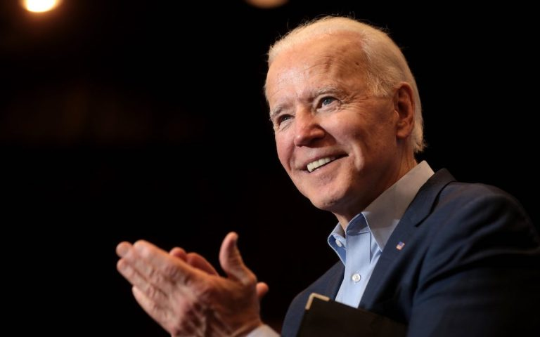 Biden warns China that the United States is 'not for turning'