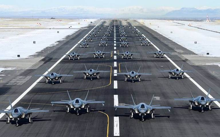 China locks on to F-35 fighter jets in high-tech war with US