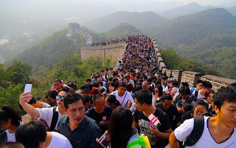 Cracks are starting to appear in China's human Great Wall