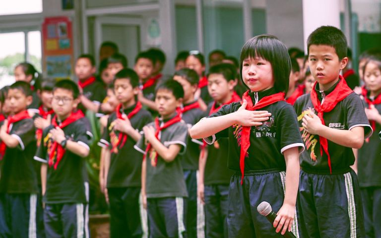 Chinese kids are just another brick in the Party wall