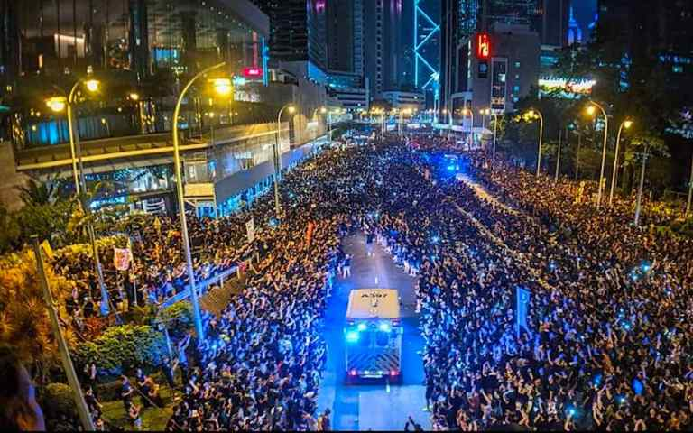 Why Hong Kong will not be partying with the Party