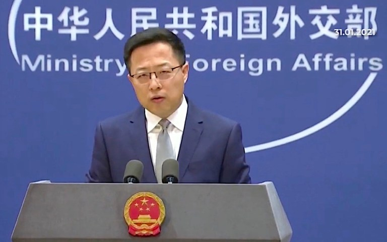 China's Foreign Ministry parrots Party 'newspeak' line