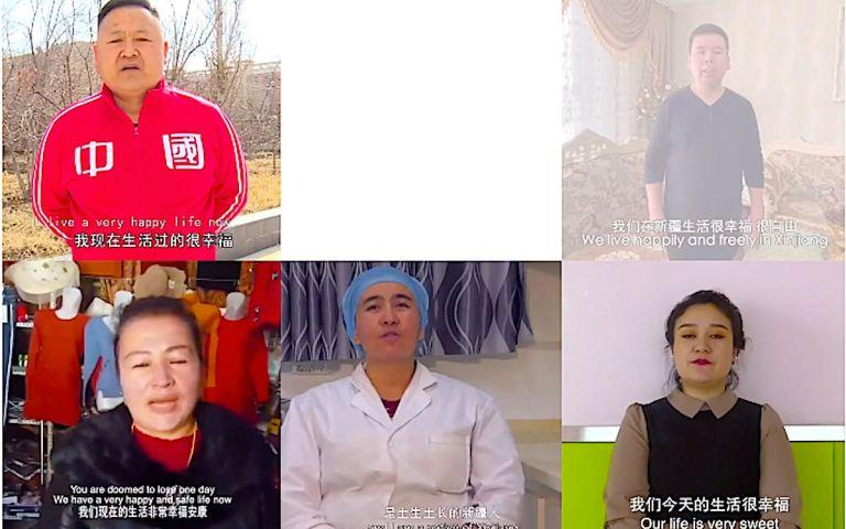 How China spreads its version of Uighur propaganda