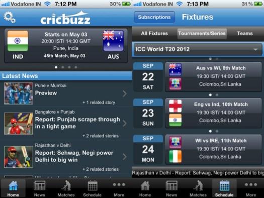 Cricket News on CricBuzz