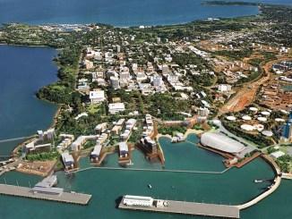 Cảng-Darwin-Úc