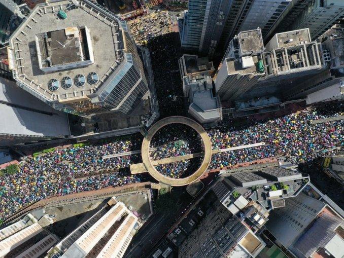 Biểu-tình-Hongkong-ngày-1-tháng-7/2019