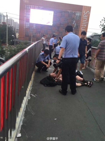 Detienen a extranjeros 'espartanos' por alterar el orden público en Beijing