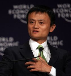 Jack Ma. Image by World Economic Forum.