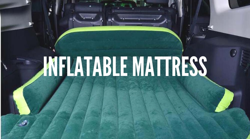 Inflatable mattress or air bed