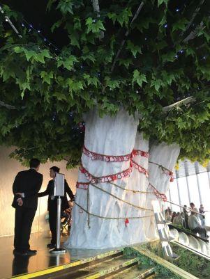 A árvore!