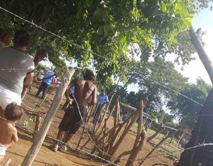 Desalojo de Campo Cañita - Chinandega
