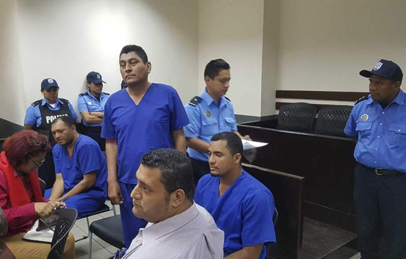 Víctor Octavio Álvarez, de 33 años, Adrián Torres Dixon, de 34, y Luis Jiménez Cruz, de 32 años