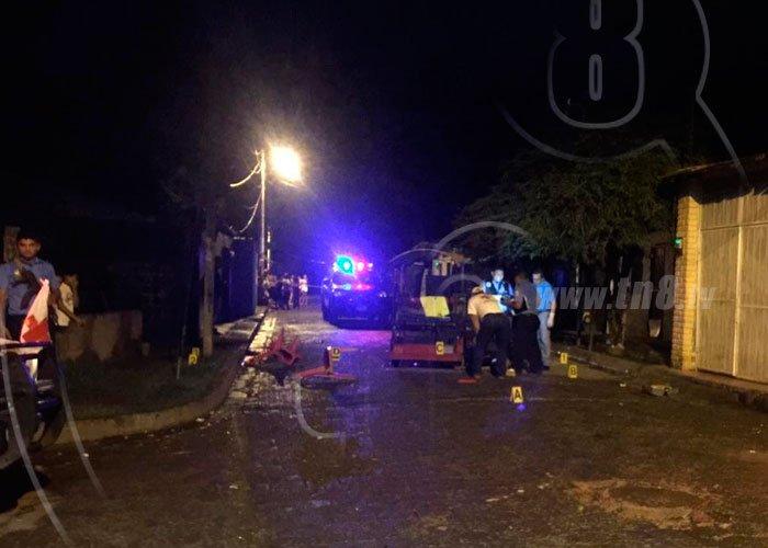 Asesinan triciclero en Chinandega